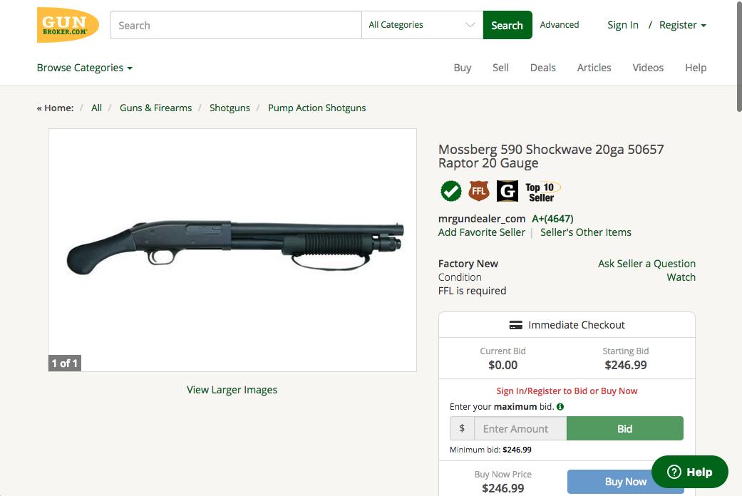 Best-deal-on-GunBroker---Mossberg-590-Shockwave