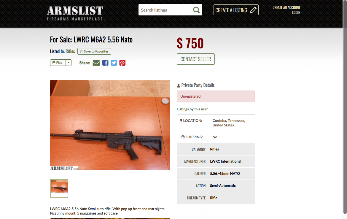 how to spot armslist scams